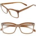 ケイト スペード KATE SPADE NEW YORK レディース メガネ・サングラス 【dollie 53mm rectangle reading glasses】Nude
