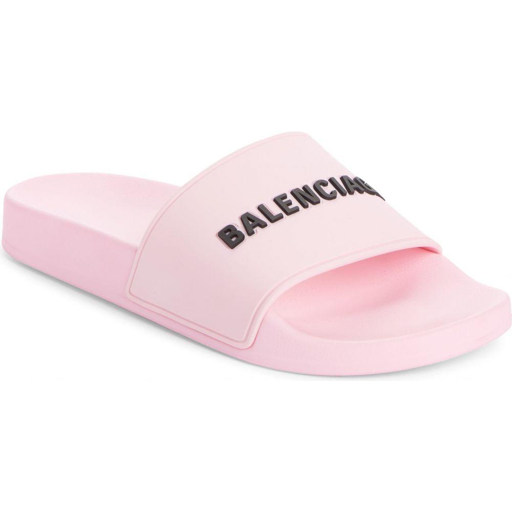 サンダル, その他  BALENCIAGA Logo Sport SlideLight PinkBlack