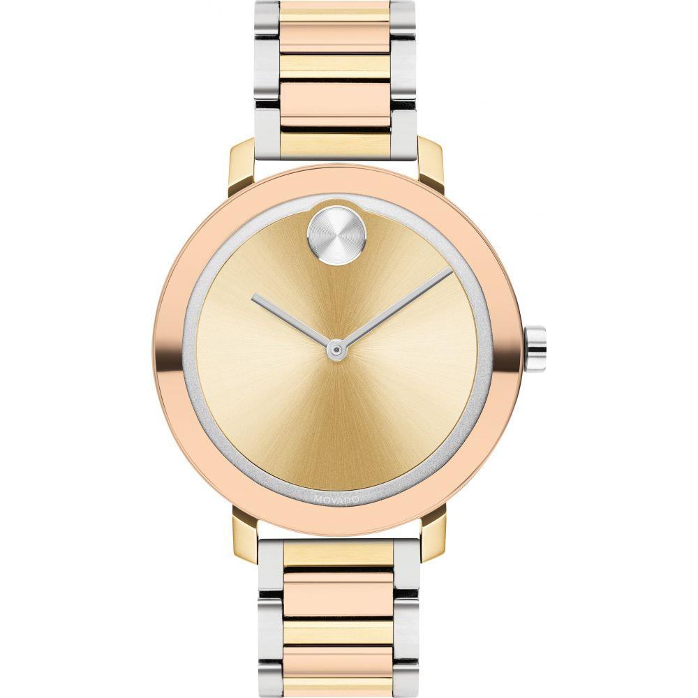 腕時計, メンズ腕時計  MOVADO Bold Evolution Bracelet Watch, 34mmGold