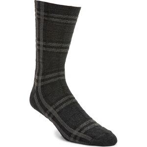 バーバリー BURBERRY メンズ ソックス インナー・下着【Check Socks】Dark Charcoal