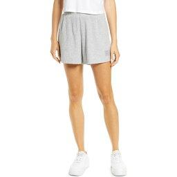 アロー ALO レディース ショートパンツ ボトムス・パンツ【Muse Ribbed Shorts】Athletic Heather Grey