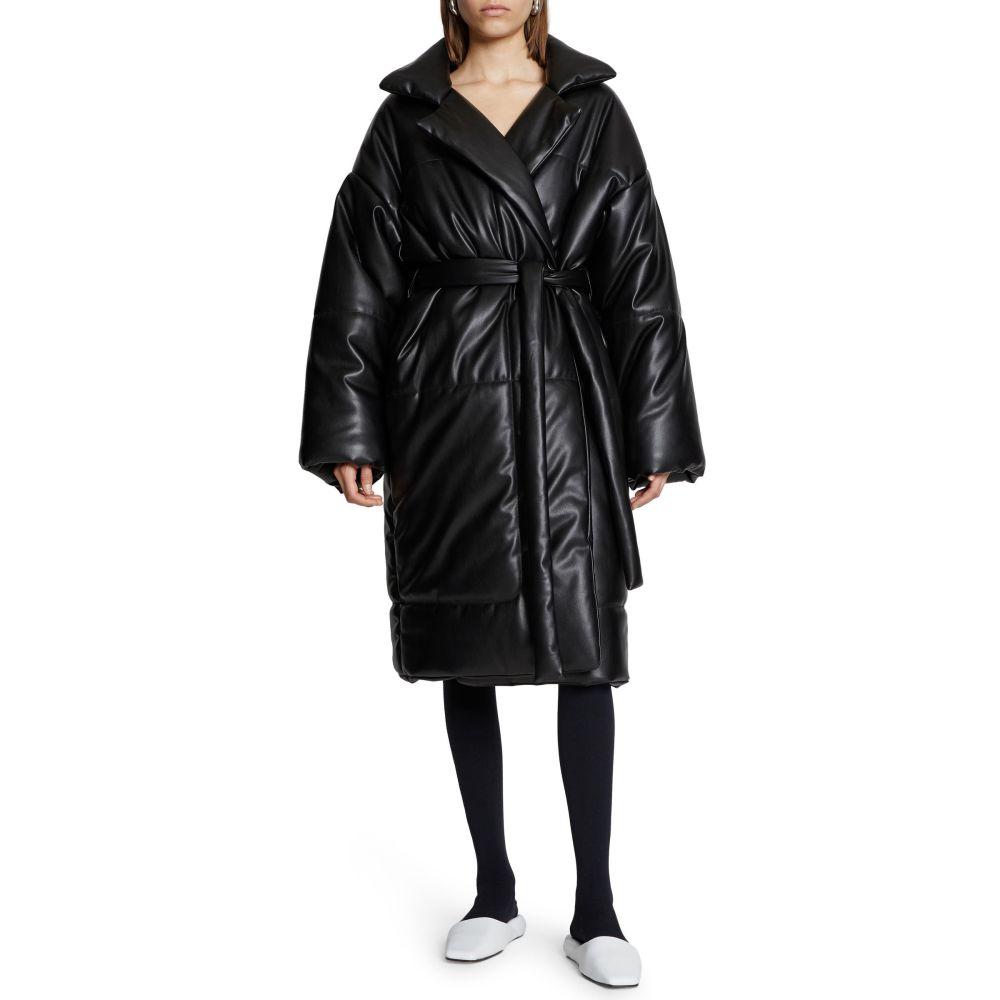 レディースファッション, コート・ジャケット  PROENZA SCHOULER WHITE LABEL Faux Leather Puffer CoatBlack