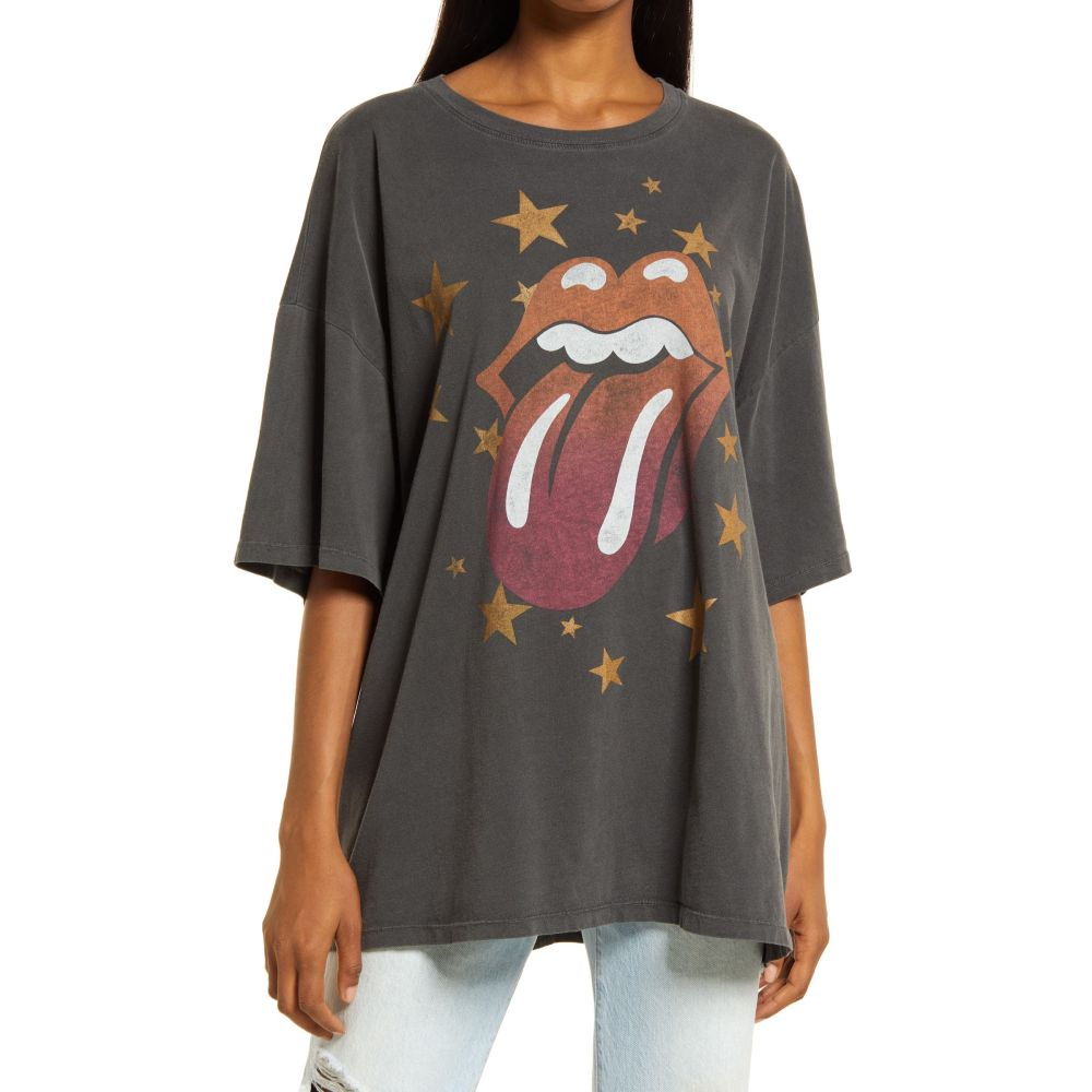 トップス, Tシャツ・カットソー  DAYDREAMER T Rolling Stones One Size Cotton Graphic TeePigment Black