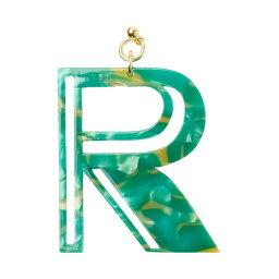 ナディア STATEMENT BY NADIA レディース イヤリング・ピアス ジュエリー・アクセサリー【Single Initial Earring】Green