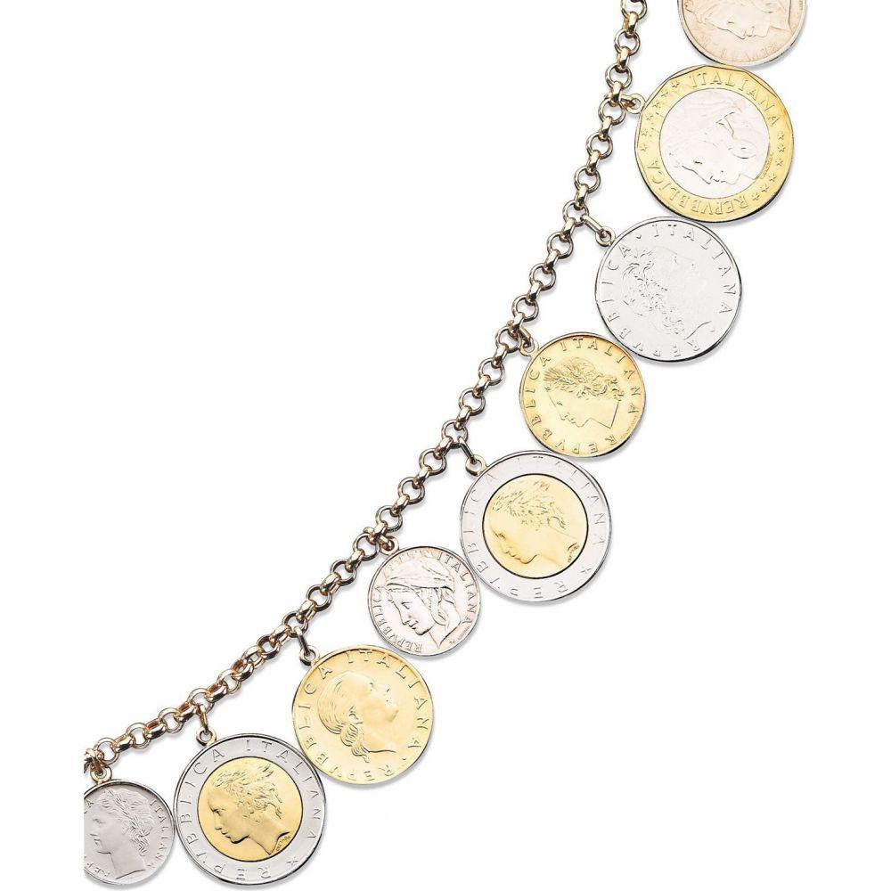 男女兼用アクセサリー, ブレスレット  Macys Vermeil Bracelet, Lira Coins Charm BraceletNo Color
