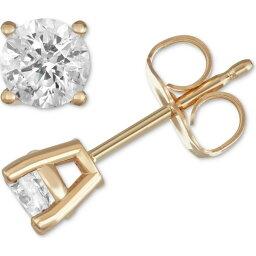 メイシーズ Macy's Star Signature Diamond ユニセックス イヤリング・ピアス スタッドピアス ジュエリー・アクセサリー【Stud Earrings (1/2 ct. t.w.) in 14k Gold or White Gold】Yellow Gold