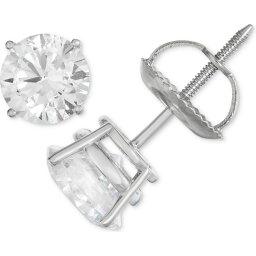 メイシーズ Macy's ユニセックス イヤリング・ピアス スタッドピアス ジュエリー・アクセサリー【Certified Diamond Stud Earrings (1/2 ct. t.w.) in 14k White Gold】White Gold