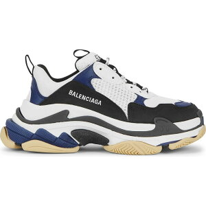 Balenciaga Women's Sneakers Shoes/Shoes [Triple S Mesh And Leather Sneakers] Black