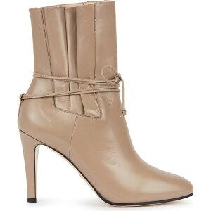 グッチ Gucci レディース ブーツ ショートブーツ シューズ・靴【Indya 105 Camel Leather Ankle Boots】Natural