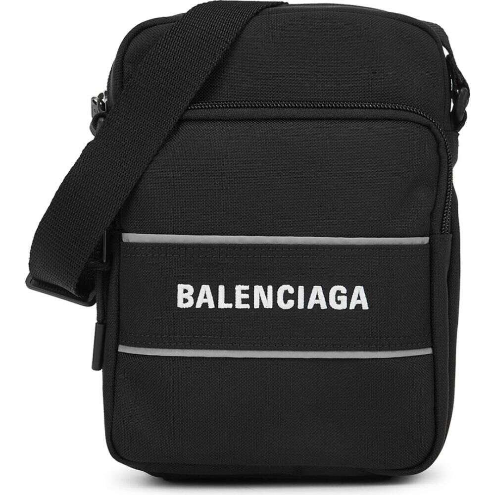 メンズバッグ, ショルダーバッグ・メッセンジャーバッグ  Balenciaga sport black nylon cross-body bagBlack