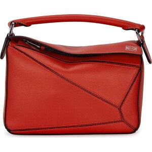 罗意威(Loewe)罗意威(Loewe)女士单肩包[Puzzle Small Leather Cross-Body Bag]红色