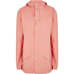 レインズ Rains レディース レインコート アウター【Coral rubberised raincoat】Pink