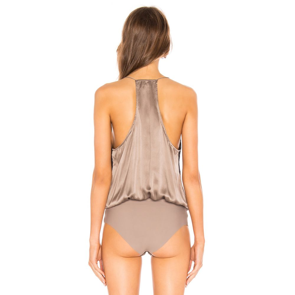 カミニューヨークシティー CAMI NYC レディース インナー・下着 ボディースーツ【The Courtney Bodysuit】Pewter