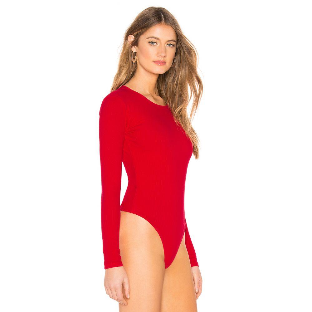 プライバシー プリーズ Privacy Please レディース インナー・下着 ボディースーツ【Lilac Bodysuit】Bright Red