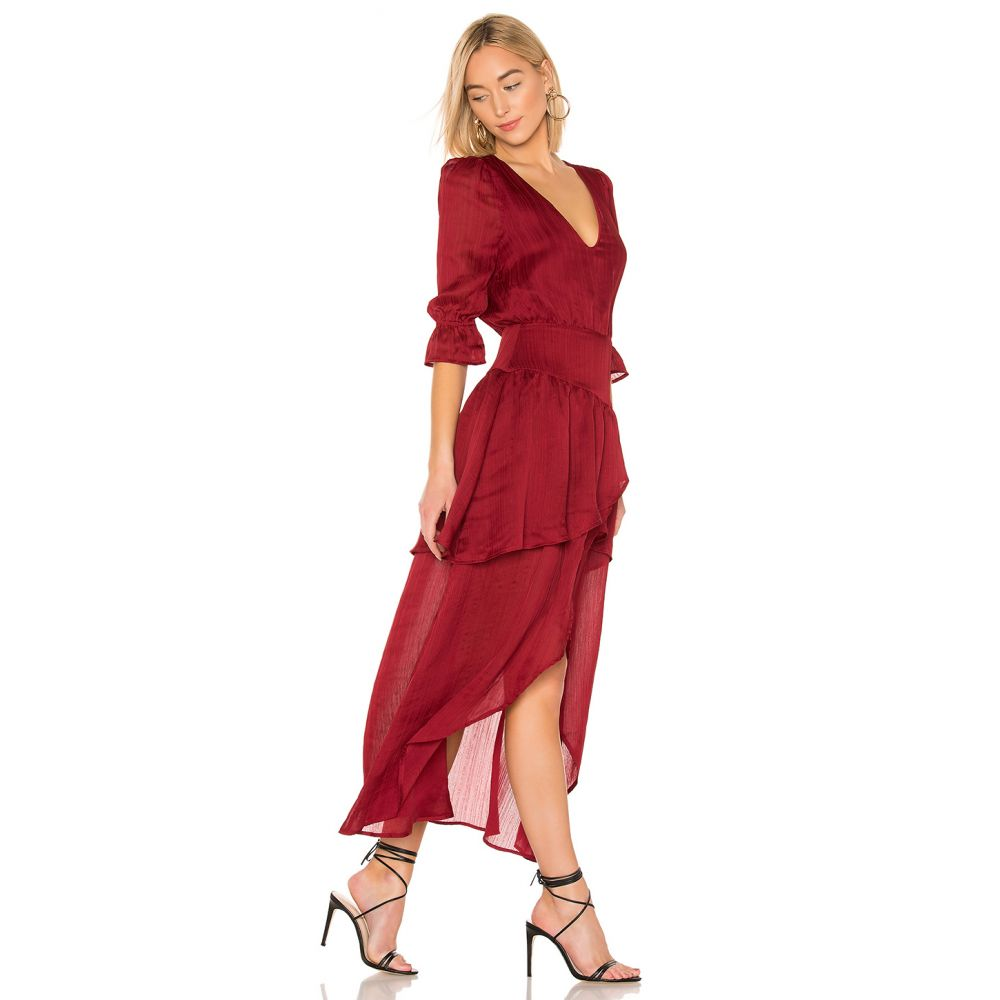 ハウスオブハーロウ1960 House of Harlow 1960 レディース ワンピース・ドレス ワンピース【X REVOLVE Onel Dress】Crimson Red