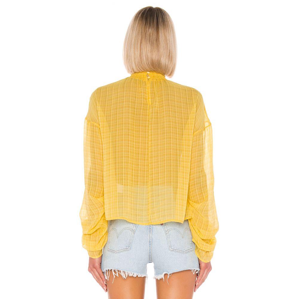 ハウスオブハーロウ1960 House of Harlow 1960 レディース トップス ブラウス・シャツ【X REVOLVE Liliana Blouse】Yellow
