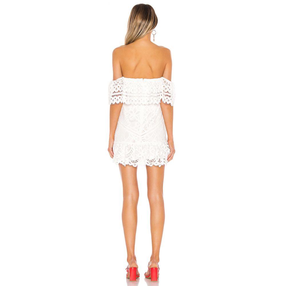 ラヴァーズフレンズ Lovers + Friends レディース ワンピース・ドレス ワンピース【Vinnie Mini Dress】White