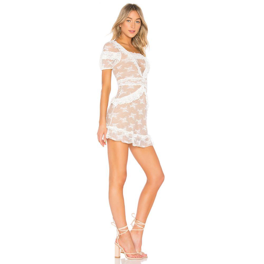 マジョレル MAJORELLE レディース ワンピース・ドレス ワンピース【Lorietta Mini Dress】White