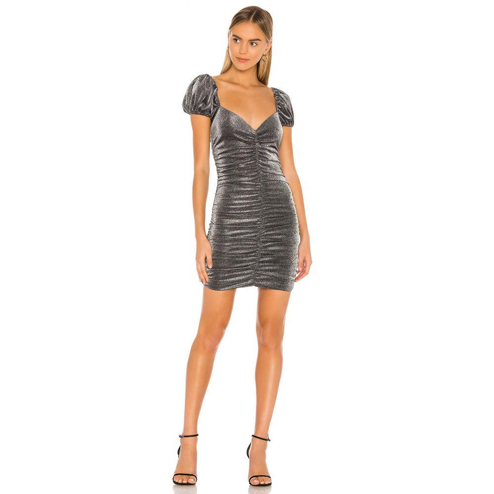 プライバシー プリーズ Privacy Please レディース ワンピース ワンピース・ドレス【Lyra Mini Dress】Metallic Silver
