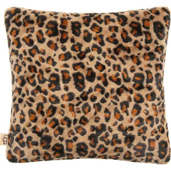 アグUGGレディース雑貨枕 JunoFauxFurPillow LeopardPrint