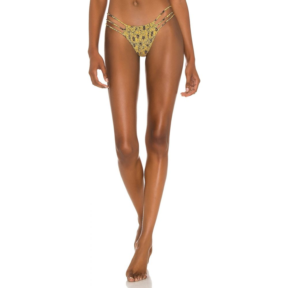 レディースファッション, 水着  Indah Melli Skimpy Printed Smocked Bikini BottomSinar