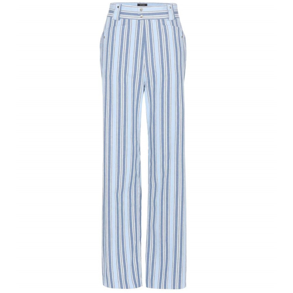 イザベル マラン Isabel Marant レディース ボトムス カジュアルパンツ【Selina cotton trousers】:フェルマート