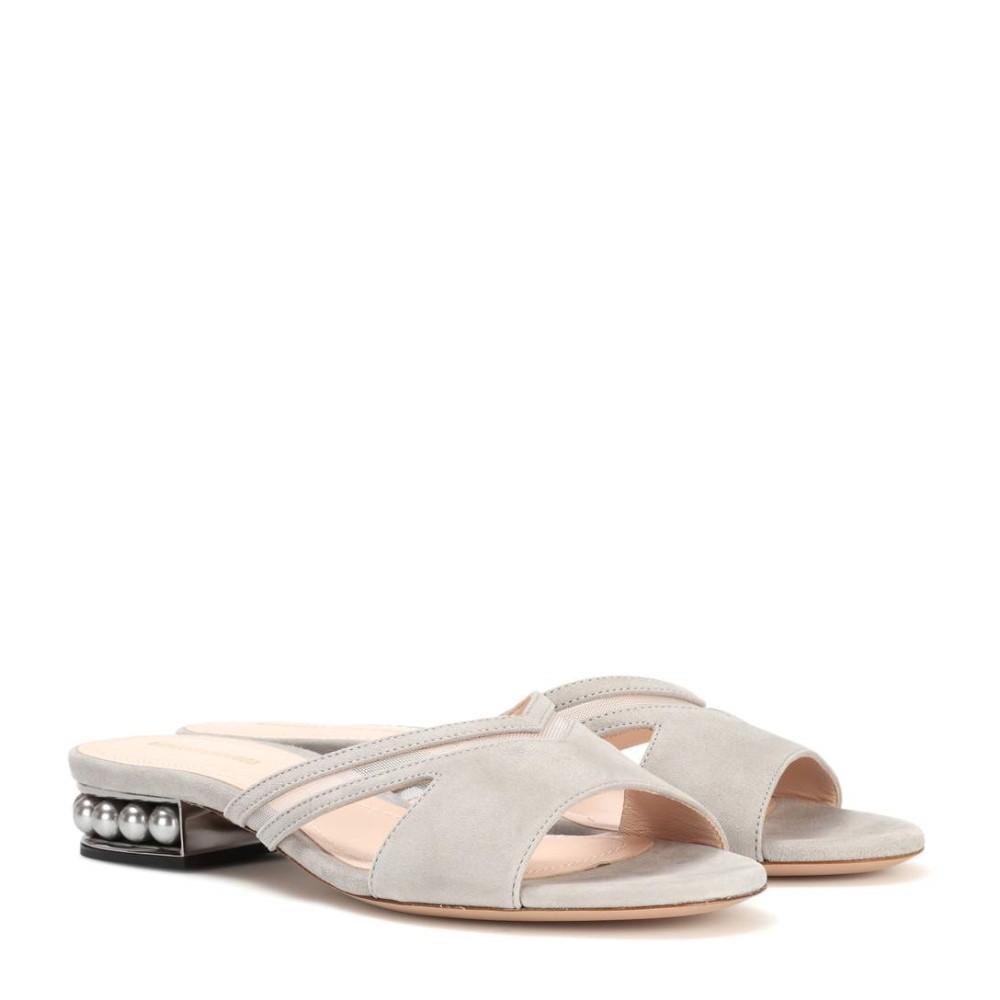 ニコラス カークウッド Nicholas Kirkwood レディース シューズ・靴 サンダル【Casati Mule suede slip-on sandals】:フェルマート