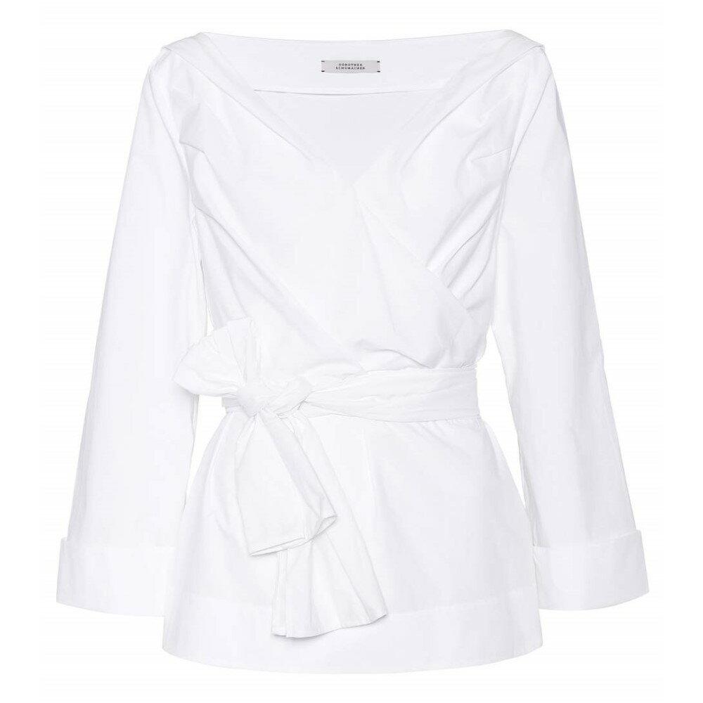 ドロシー シューマッハ Dorothee Schumacher レディース トップス ブラウス【Cool Shake cotton blouse】:フェルマート
