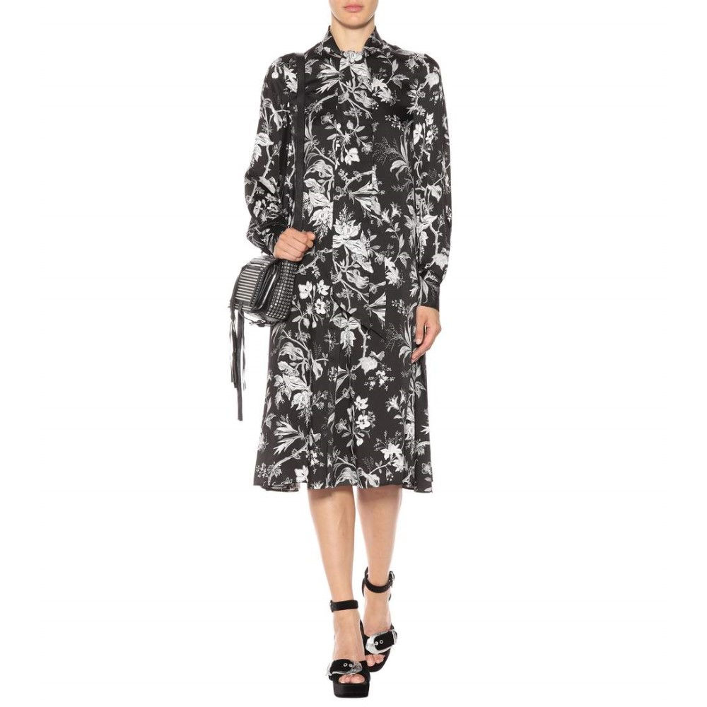 アレキサンダー マックイーン McQ Alexander McQueen レディース トップス ワンピース【Floral-printed dress】