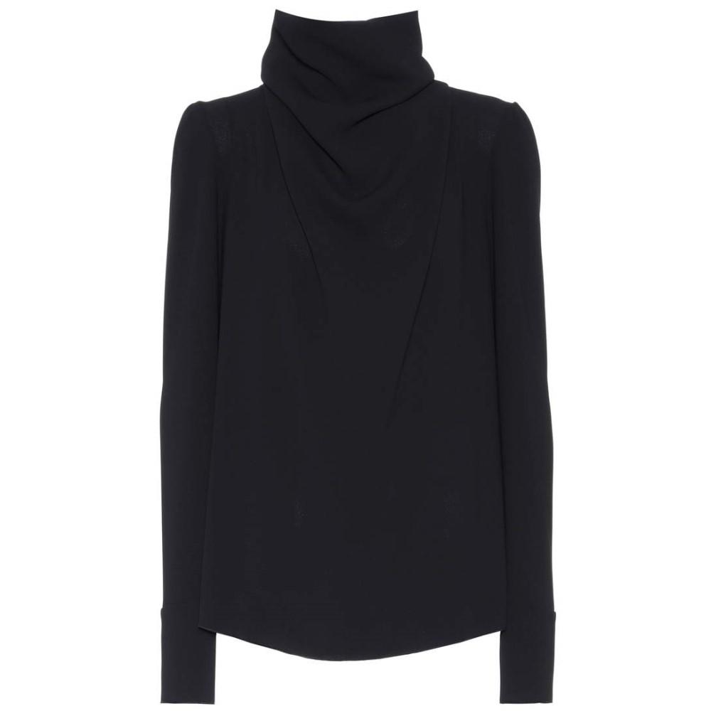 エムエム6 メゾン マルジェラ Maison Margiela レディース トップス ブラウス【Crepe blouse】:フェルマート