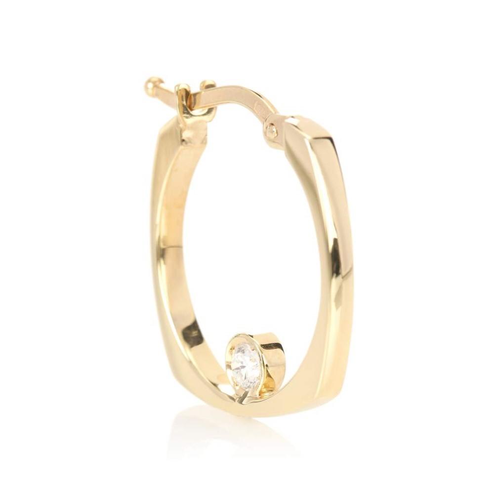Aliita Aro B 9kt gold hoop earrings xFiubzI