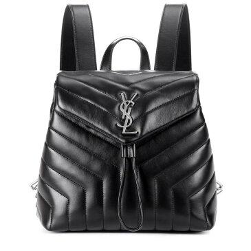 イヴ サンローラン レディース バッグ バックパック・リュック【Small Loulou leather backpack】Noir