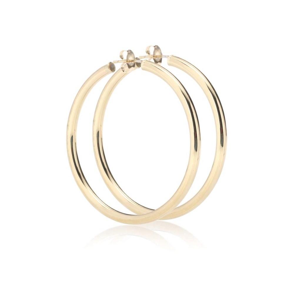 ローレン スチュワート レディース ジュエリー・アクセサリー イヤリング・ピアス【Medium Thick Tube Hoops 10kt gold earrings】