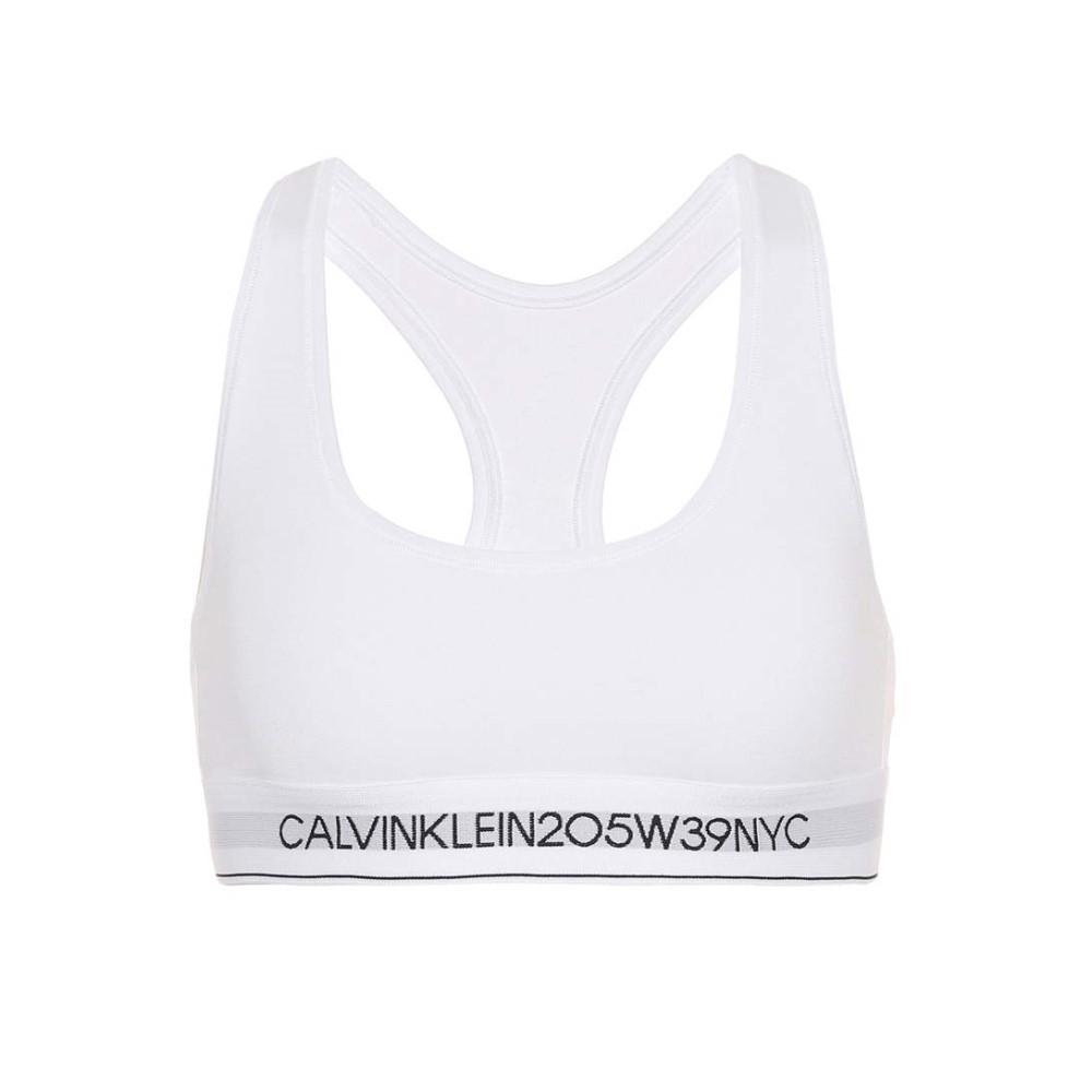 カルバンクライン レディース インナー・下着 ブラジャー【Cotton-blend bra】White