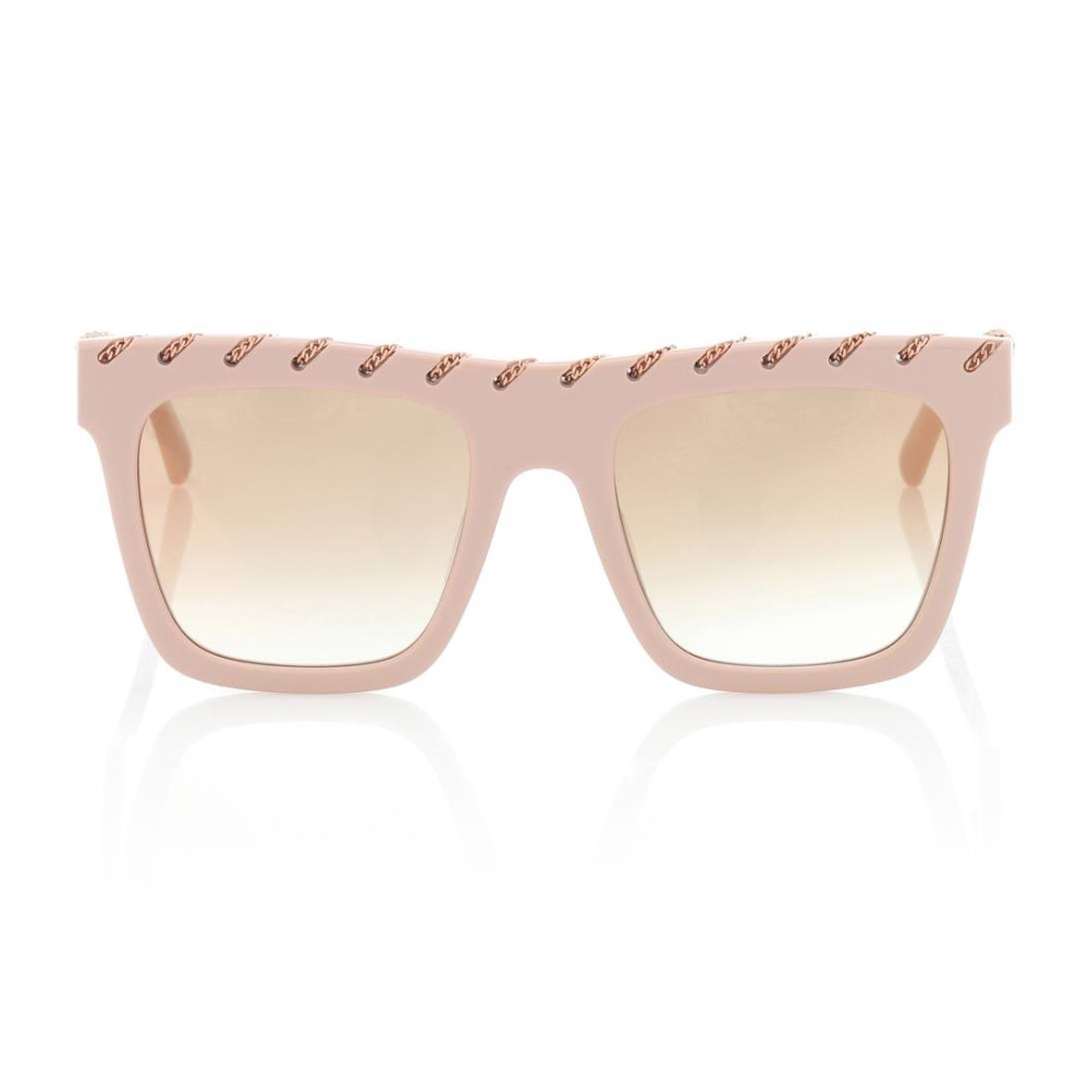 ステラ マッカートニー レディース メガネ・サングラス【Chain-trimmed sunglasses】