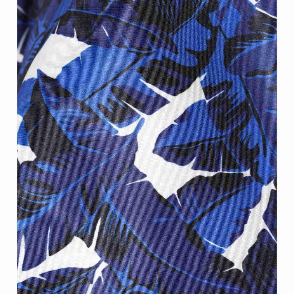 エムエスジーエム レディース トップス【Printed halterneck top】Blue/White