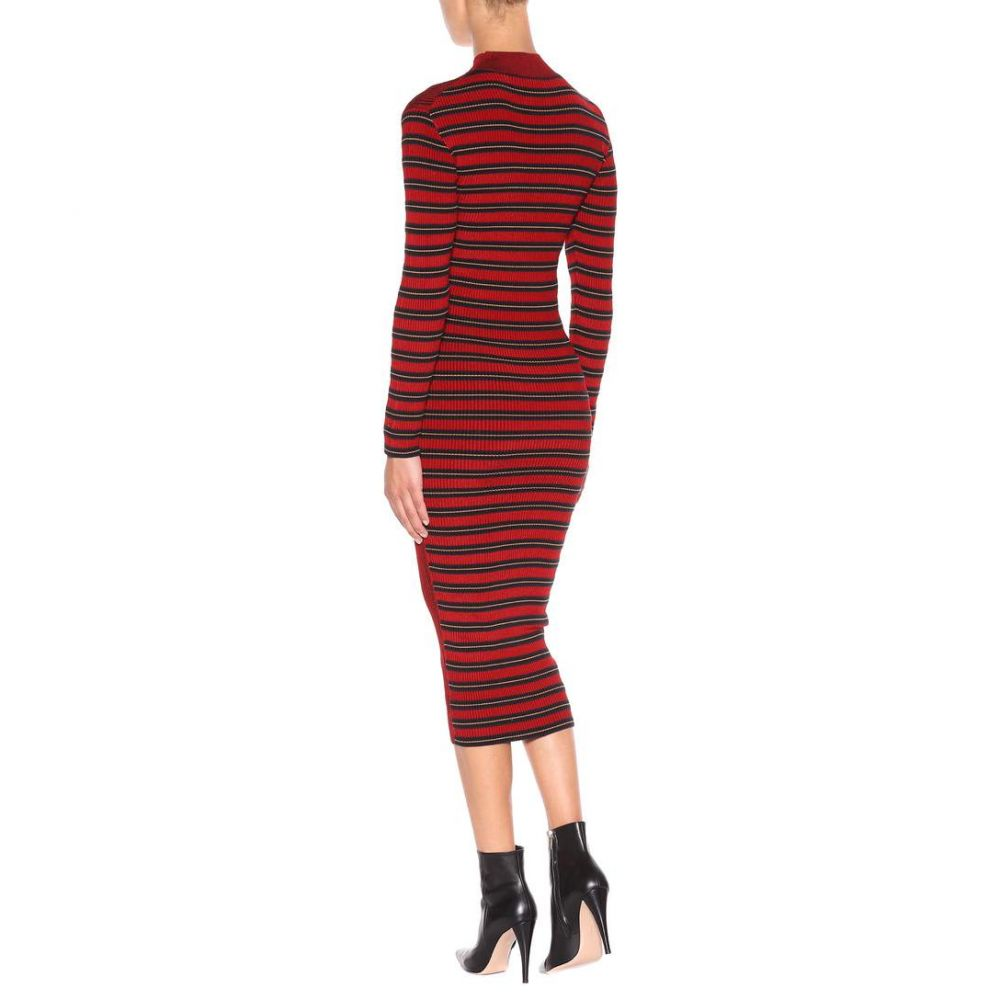 アレキサンダー マックイーン レディース ワンピース・ドレス ワンピース【Knitted dress】Red Clay