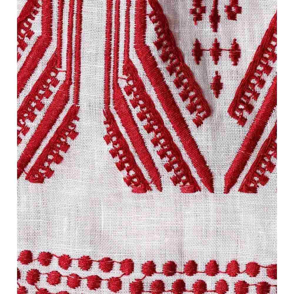 ジマーマン レディース ワンピース・ドレス ワンピース【embroidered linen dress】Ivory Garnet