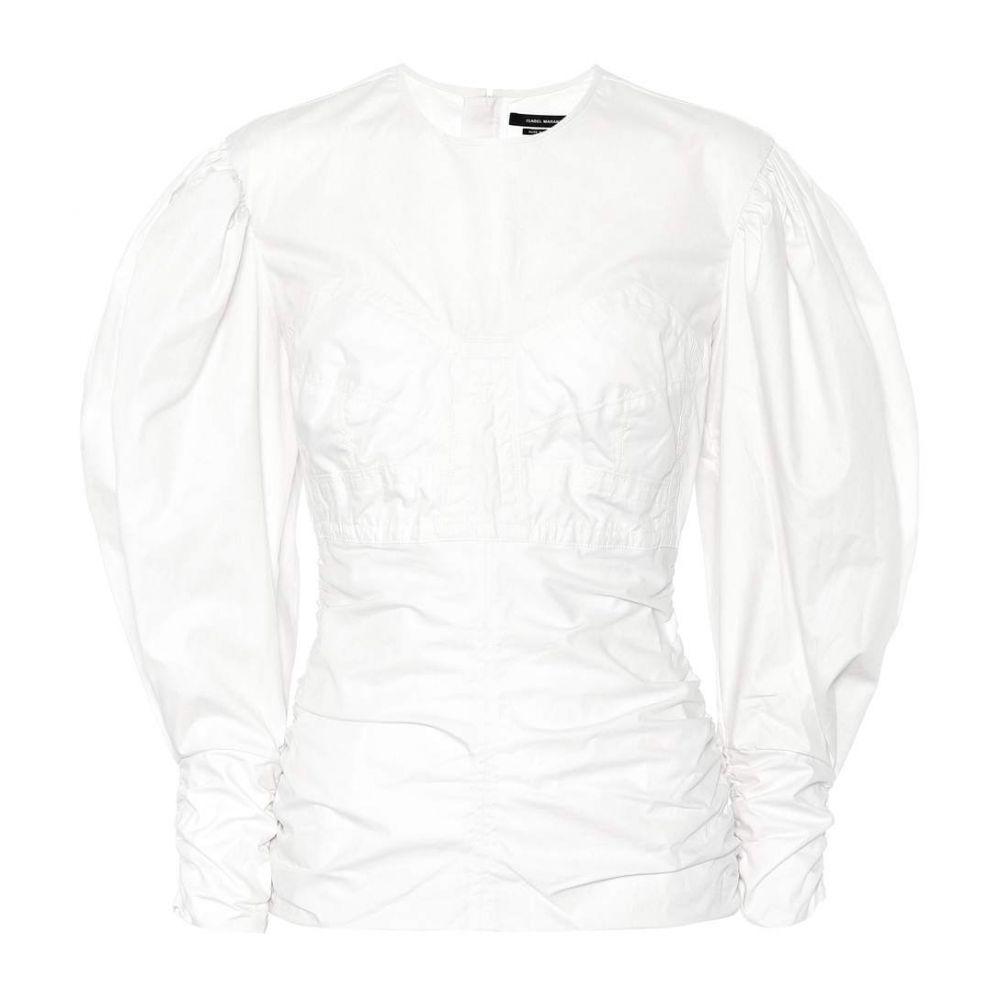 イザベル マラン レディース トップス【Maya cotton top】White