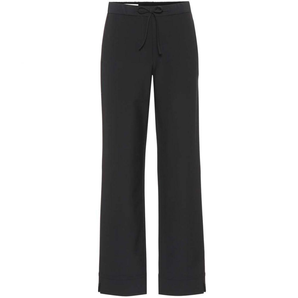 ジル サンダー レディース ボトムス・パンツ【Wool-blend pants】Black