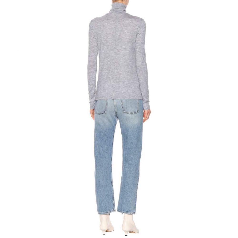 ザ ロウ レディース トップス ニット・セーター【Margit stretch cashmere sweater】Light Grey Melange