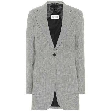メゾン マルジェラ レディース アウター スーツ・ジャケット【Houndstooth wool blazer】Pied De Poule