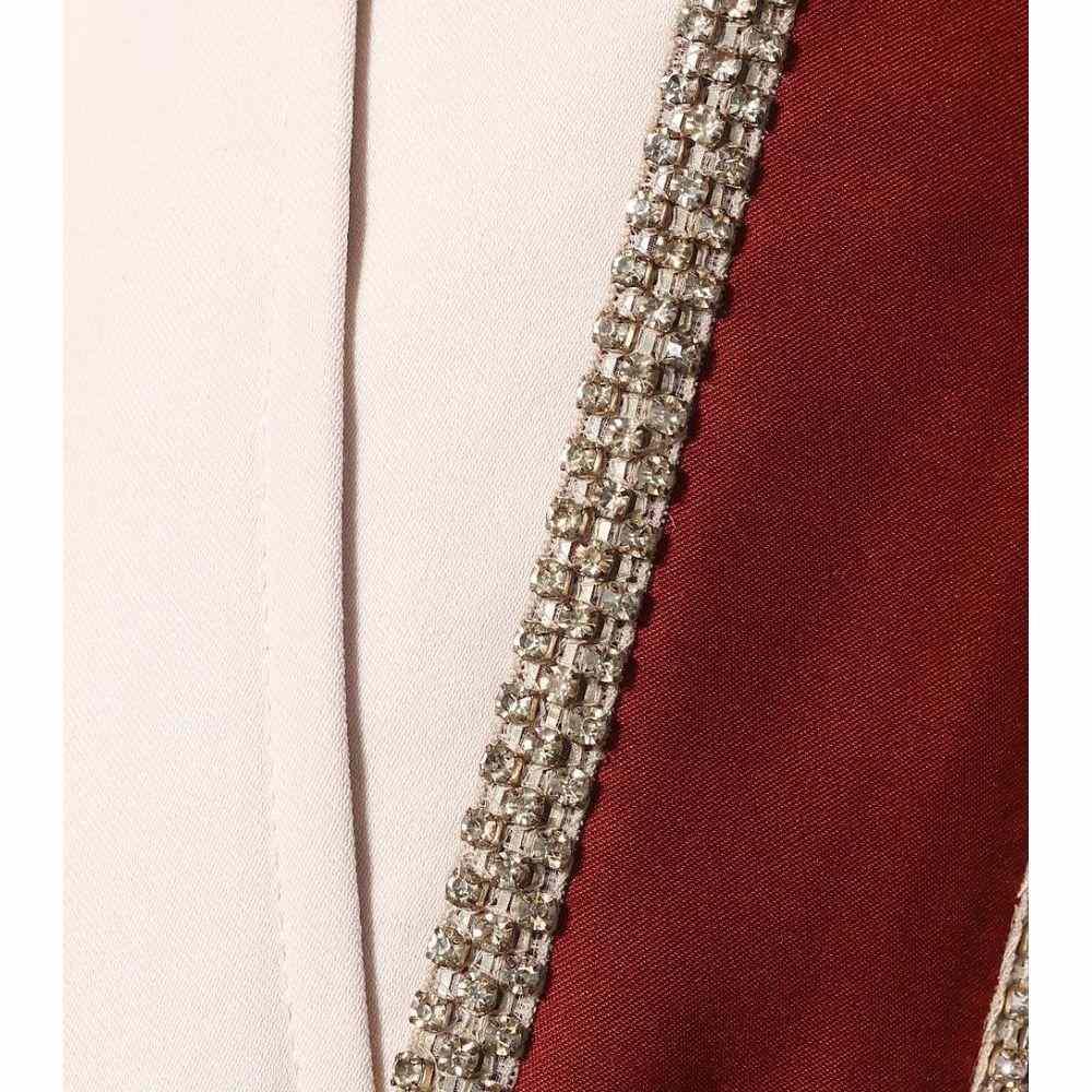 コーチ レディース ボトムス・パンツ クロップド【Striped cropped trousers】Pale Baby