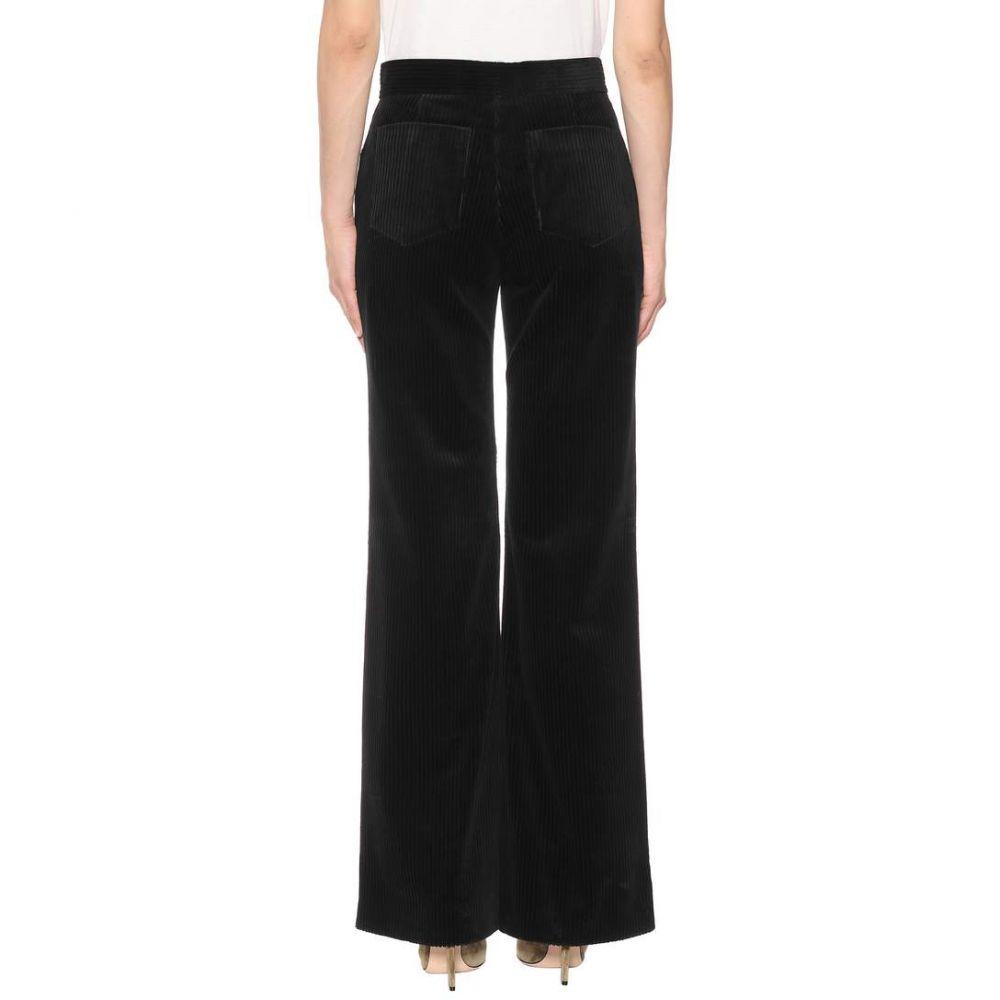 ヴィクトリア ベッカム レディース ボトムス・パンツ【Cotton corduroy trousers】Black