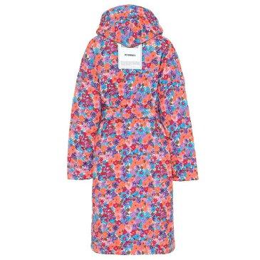 ヴェトモン Vetements レディース アウター コート【Quilted floral coat】fluo orange/flowers