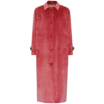 ジュリバ ヘリテージ コレクション Giuliva Heritage Collection レディース アウター コート【The Maria corduroy coat】strawberry