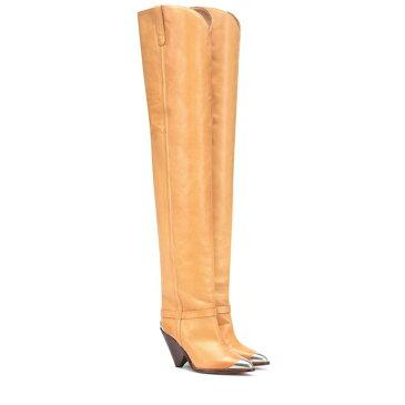 イザベル マラン Isabel Marant レディース シューズ・靴 ブーツ【Lafsten over-the-knee boots】Natural