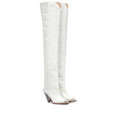 イザベル マラン Isabel Marant レディース シューズ・靴 ブーツ【Lafsten over-the-knee boots】Chalk