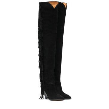 イザベル マラン Isabel Marant レディース シューズ・靴 ブーツ【Lafstee suede over-the-knee boots】Black