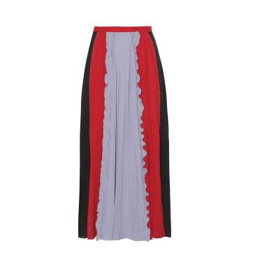 ヴァレンティノ Valentino レディース スカート【Pleated silk skirt】